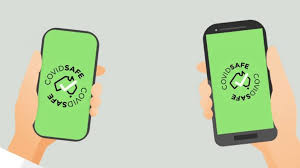 Covid Safe App promo icons